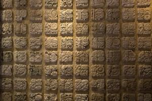 brick wallpaper mayan