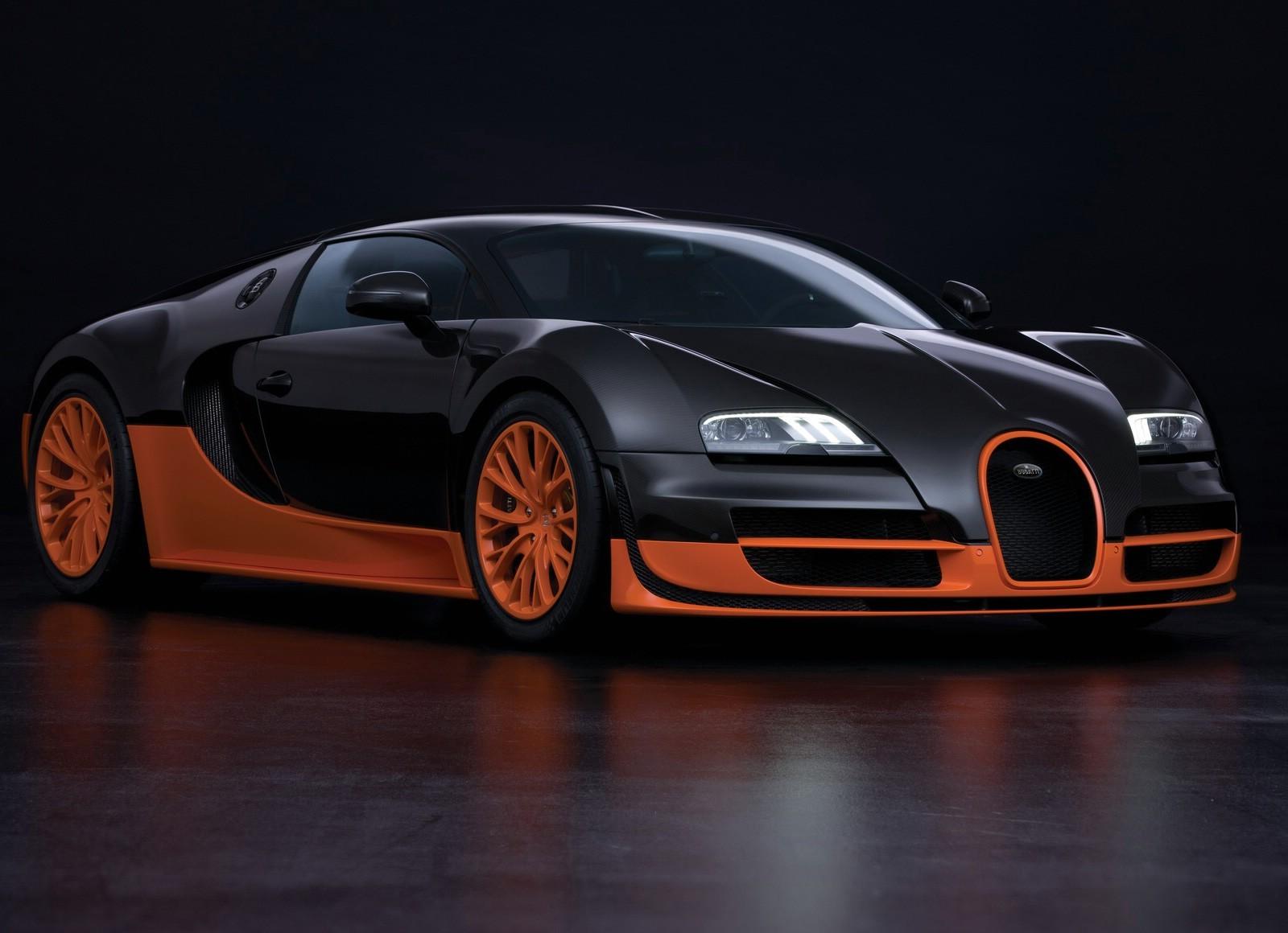 bugatti veyron wallpapers orange