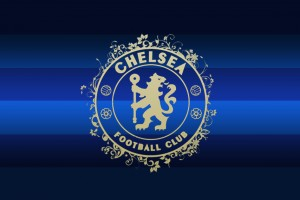 chelsea wallpaper dark blue