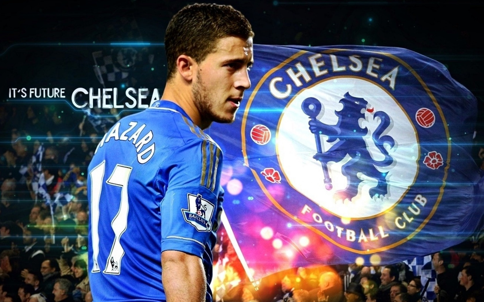 Chelsea Wallpaper Hazard Eden - HD Desktop Wallpapers