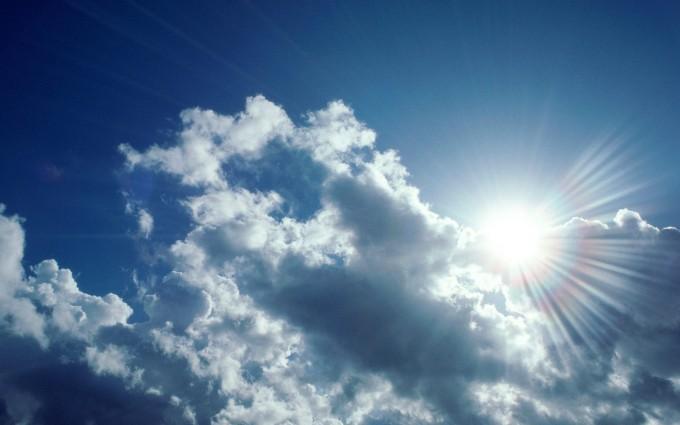 cloud wallpaper bright