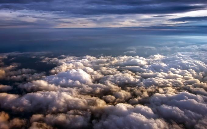 cloud wallpaper dark