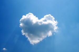 cloud wallpaper heart hd