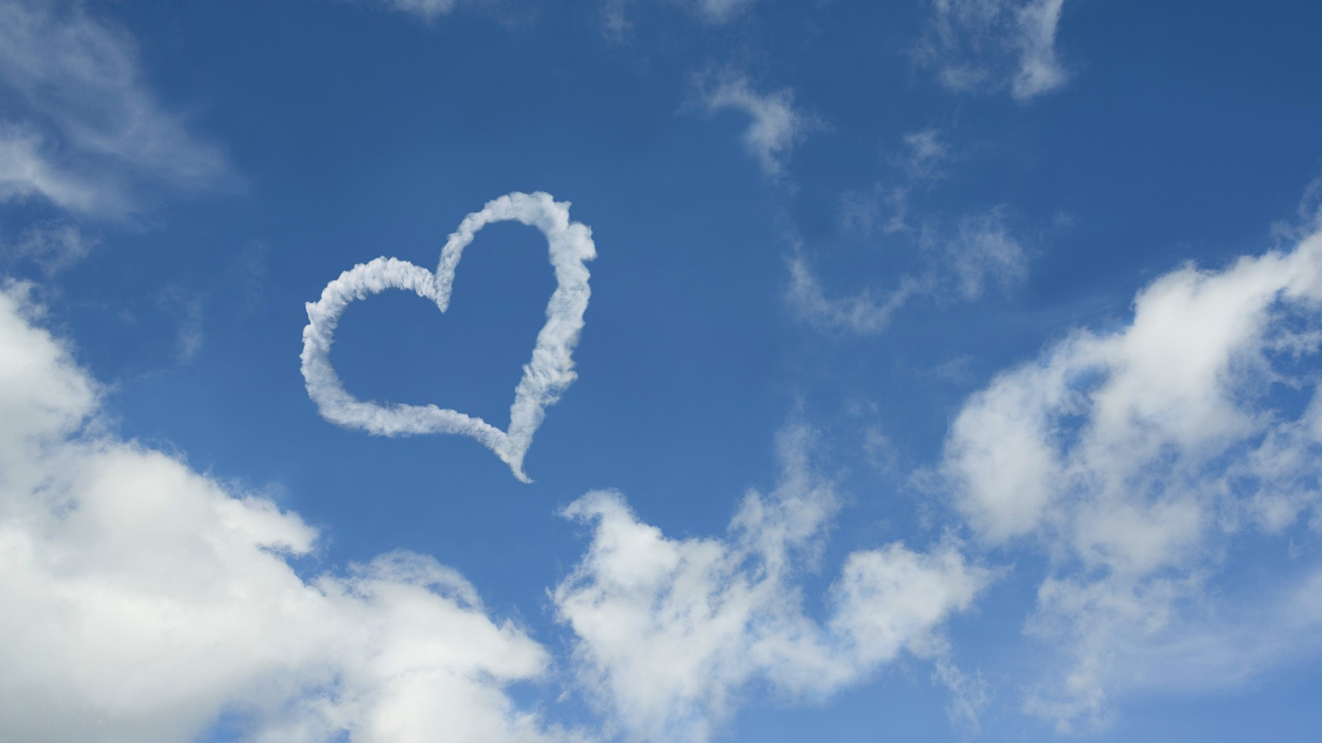 Love Expressing Wallpapers : cloud wallpaper heart love - HD Desktop Wallpapers 4k HD