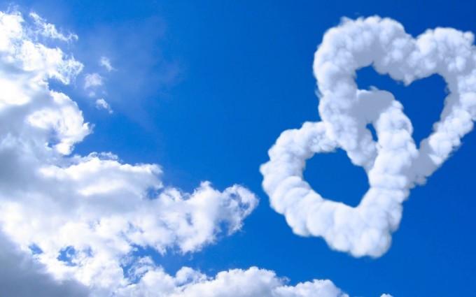 cloud wallpaper love heart