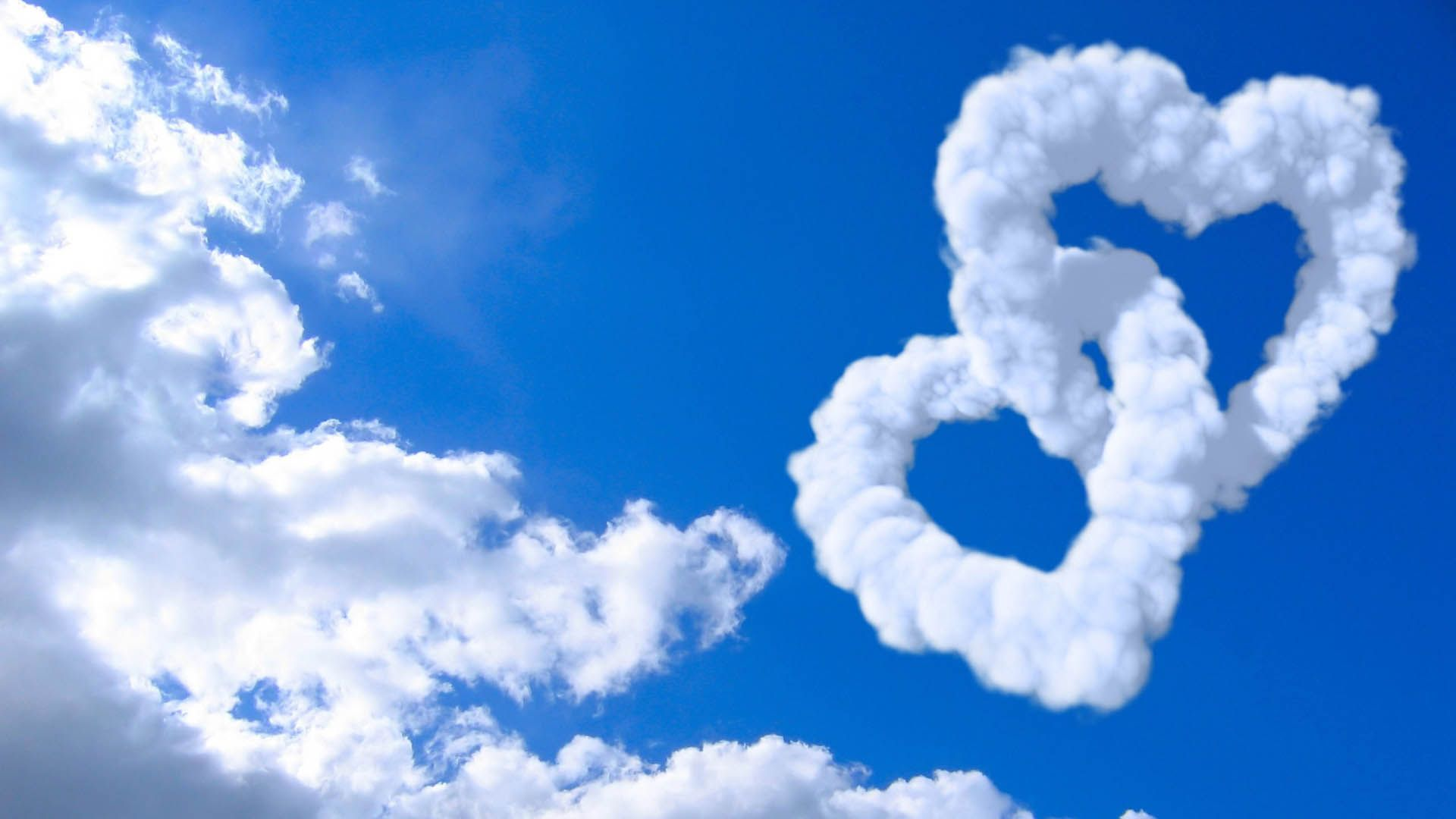 Cloud Wallpaper Love Heart Hd Desktop Wallpapers 4k Hd