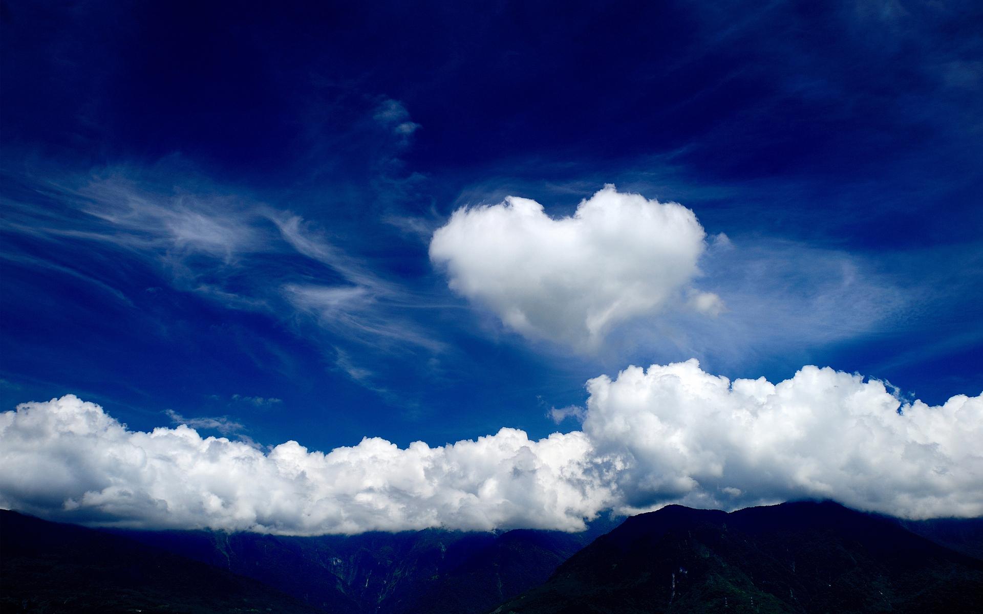 cloud wallpaper love mountains