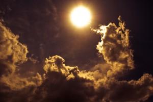 cloud wallpaper sun