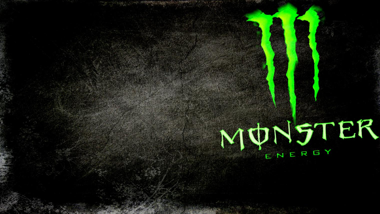 cool black wallpaper monster