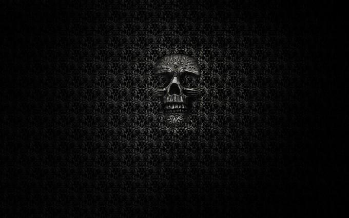 dark skull wallpapers