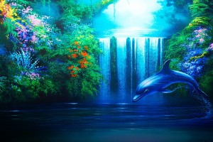 dolphin wallpaper animated
