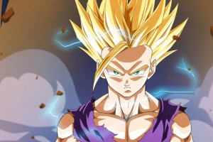 dragon ball z wallpapers blonde