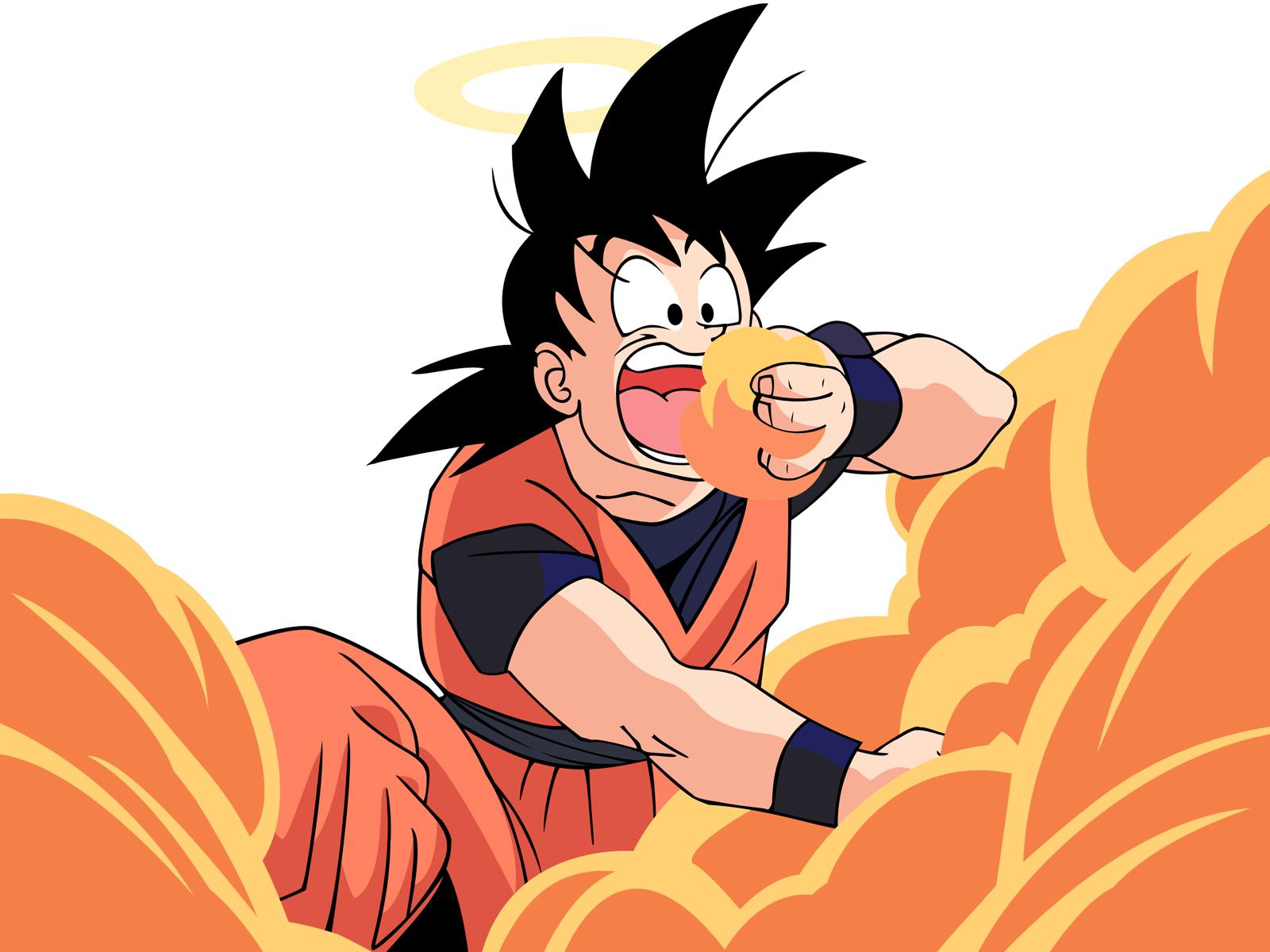 dragon ball z wallpapers orange