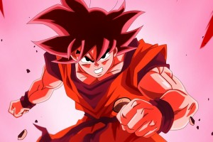 dragon ball z wallpapers red