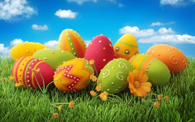 easter images eggs colorful