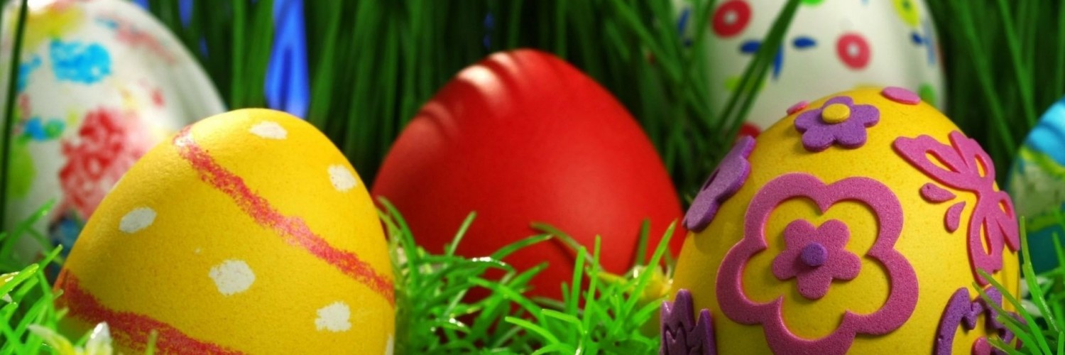 colored easter eggs hd - photo #26