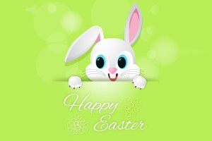 easter wallpapers bunny green