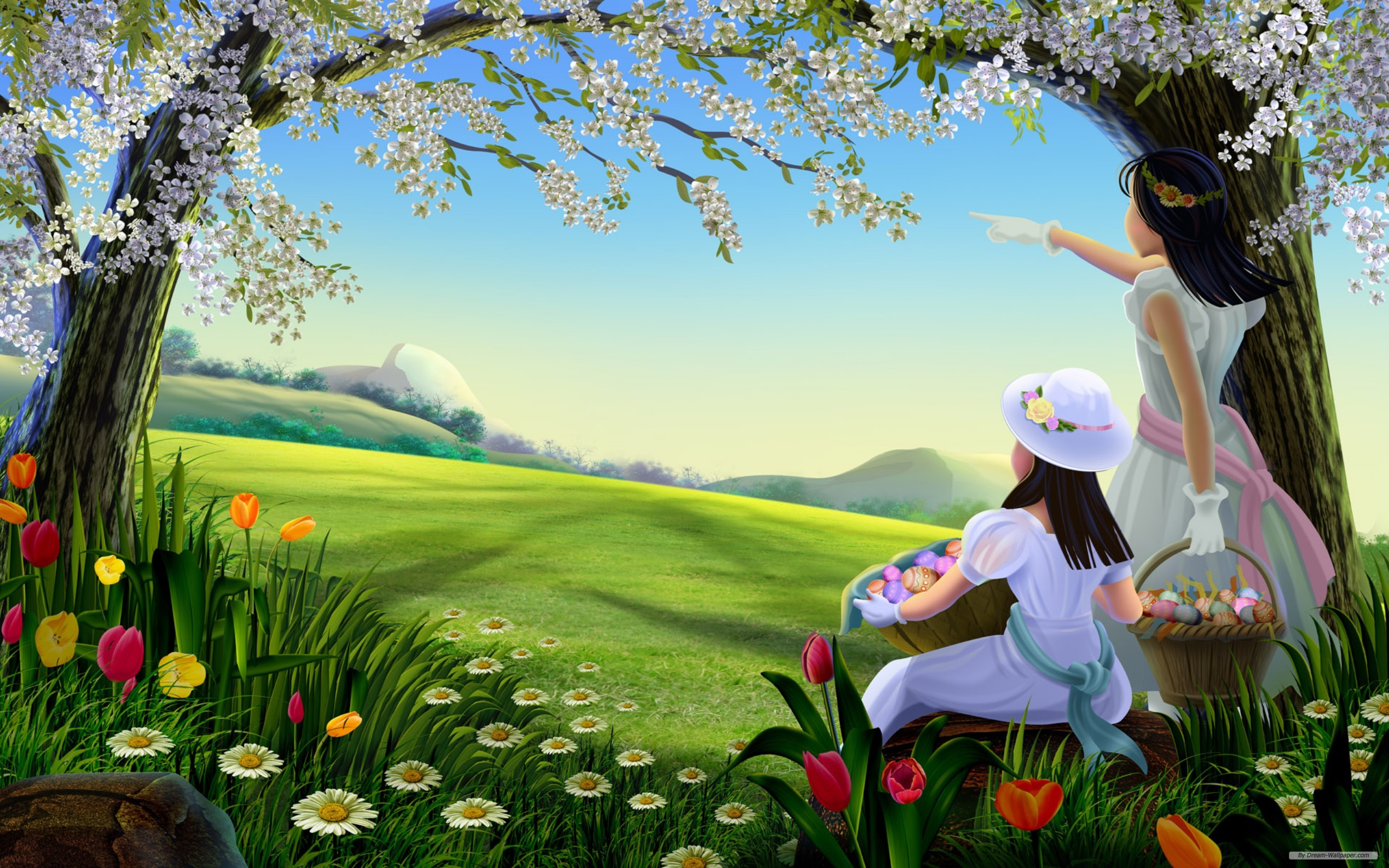 easter wallpapers eggs hd cute