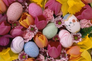 easter wallpapers eggs hd desktop
