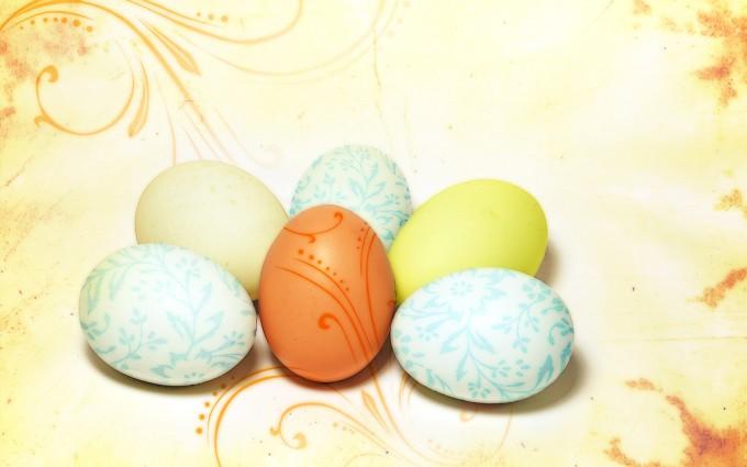 easter wallpapers eggs hd light