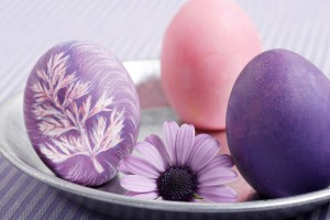 easter wallpapers eggs hd purple