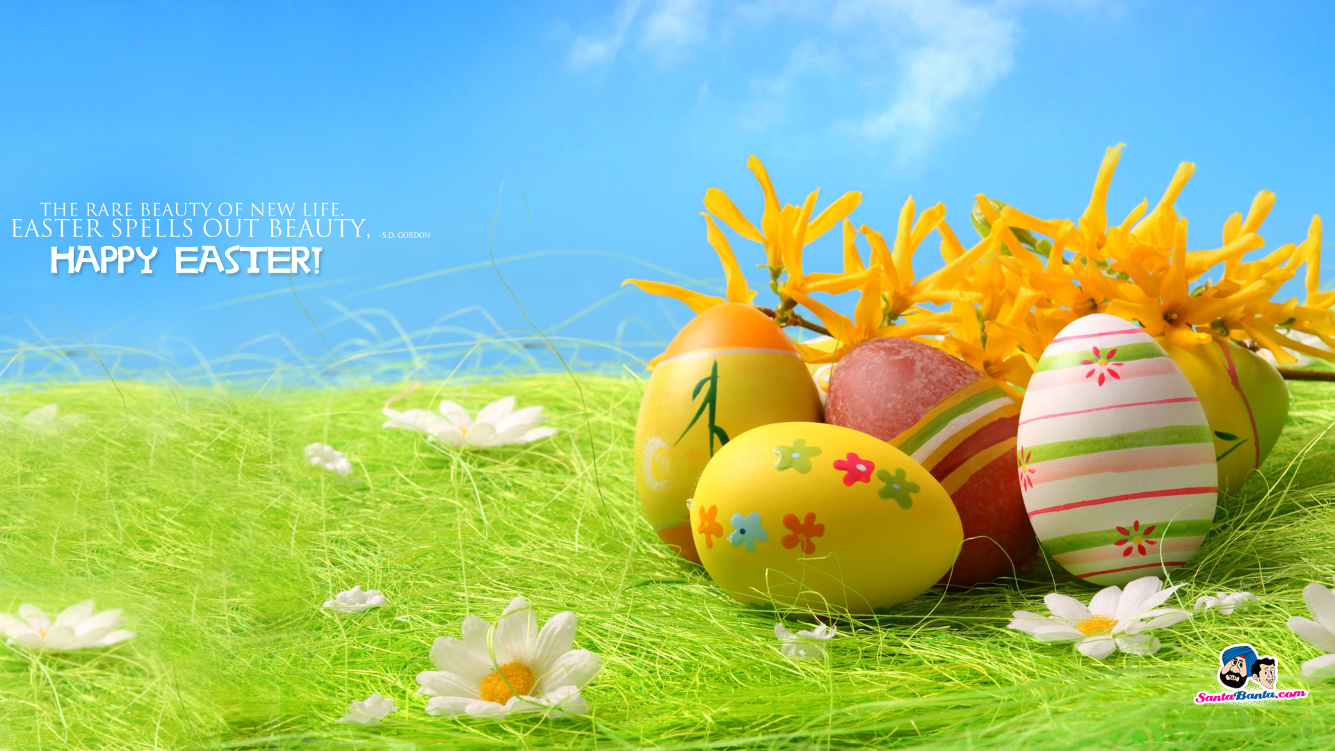 easter wallpapers eggs hd