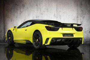 ferari 458 yellow