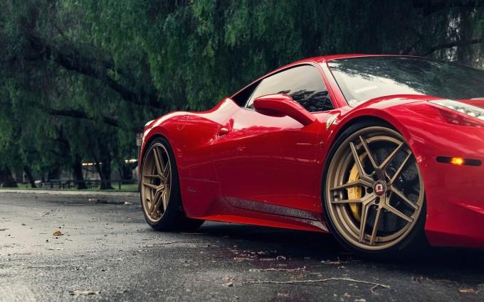 ferrari 458 italia red awesome