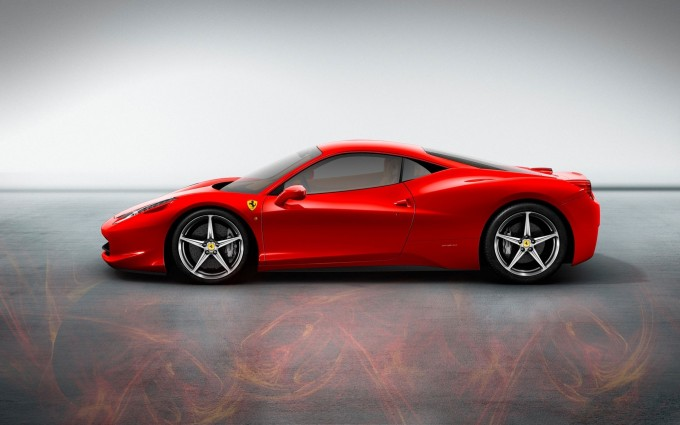 ferrari 458 italia red flame