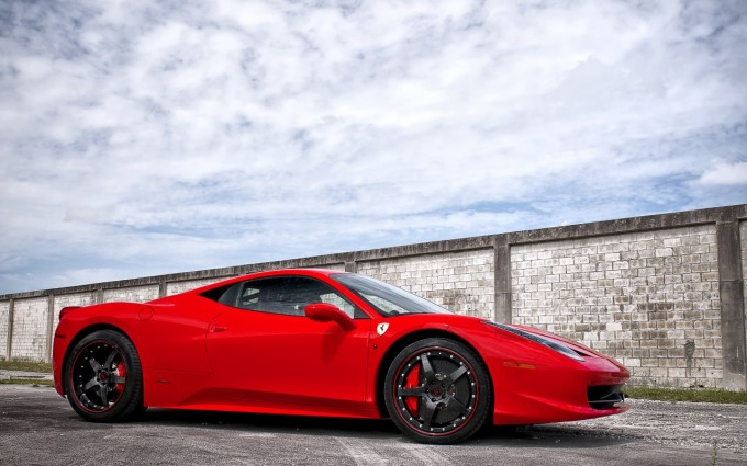 ferrari 458 italia red photography