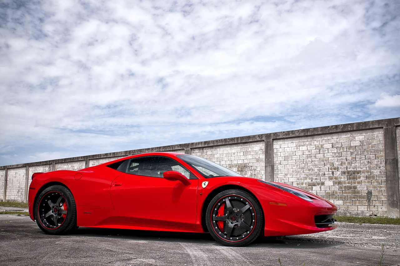 458 red cars - photo #26