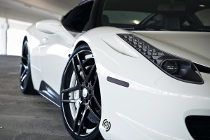 ferrari 458 italia white nice