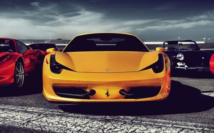 ferrari 458 italia yellow hd
