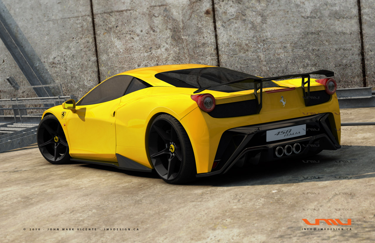 ferrari 458 italia yellow hd desktop wallpapers 4k hd. Black Bedroom Furniture Sets. Home Design Ideas