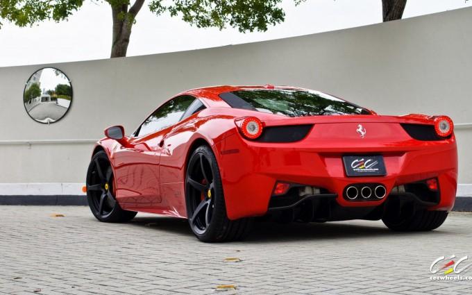 ferrari 458 red wallpaper