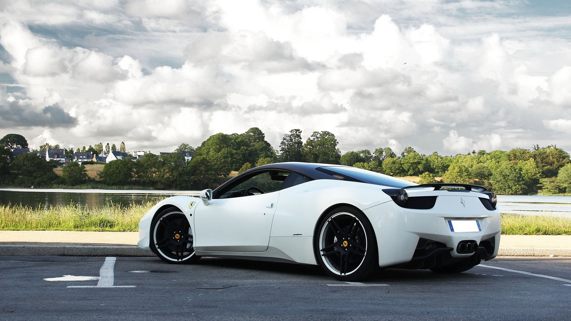 ferrari 458 white wallpaper sweet