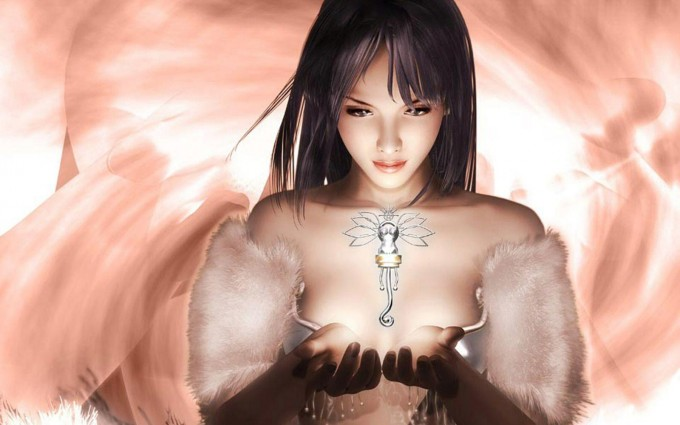 final fantasy wallpaper angel