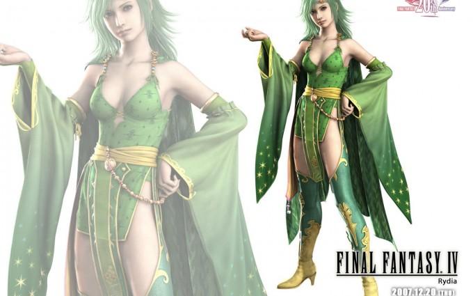 final fantasy wallpaper green
