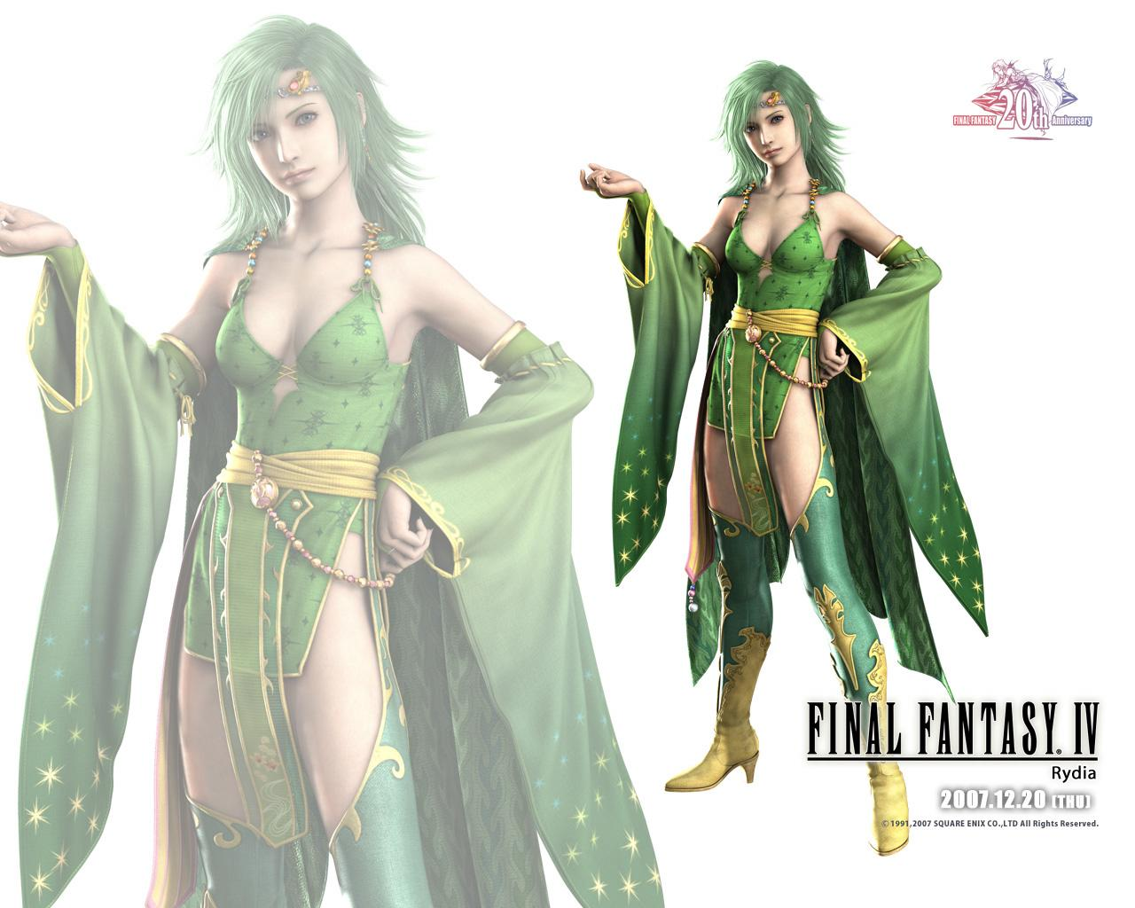 final fantasy wallpaper green