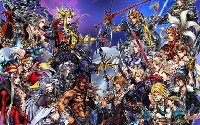 final fantasy wallpaper team