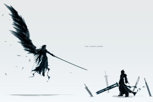 final fantasy wallpaper wings black