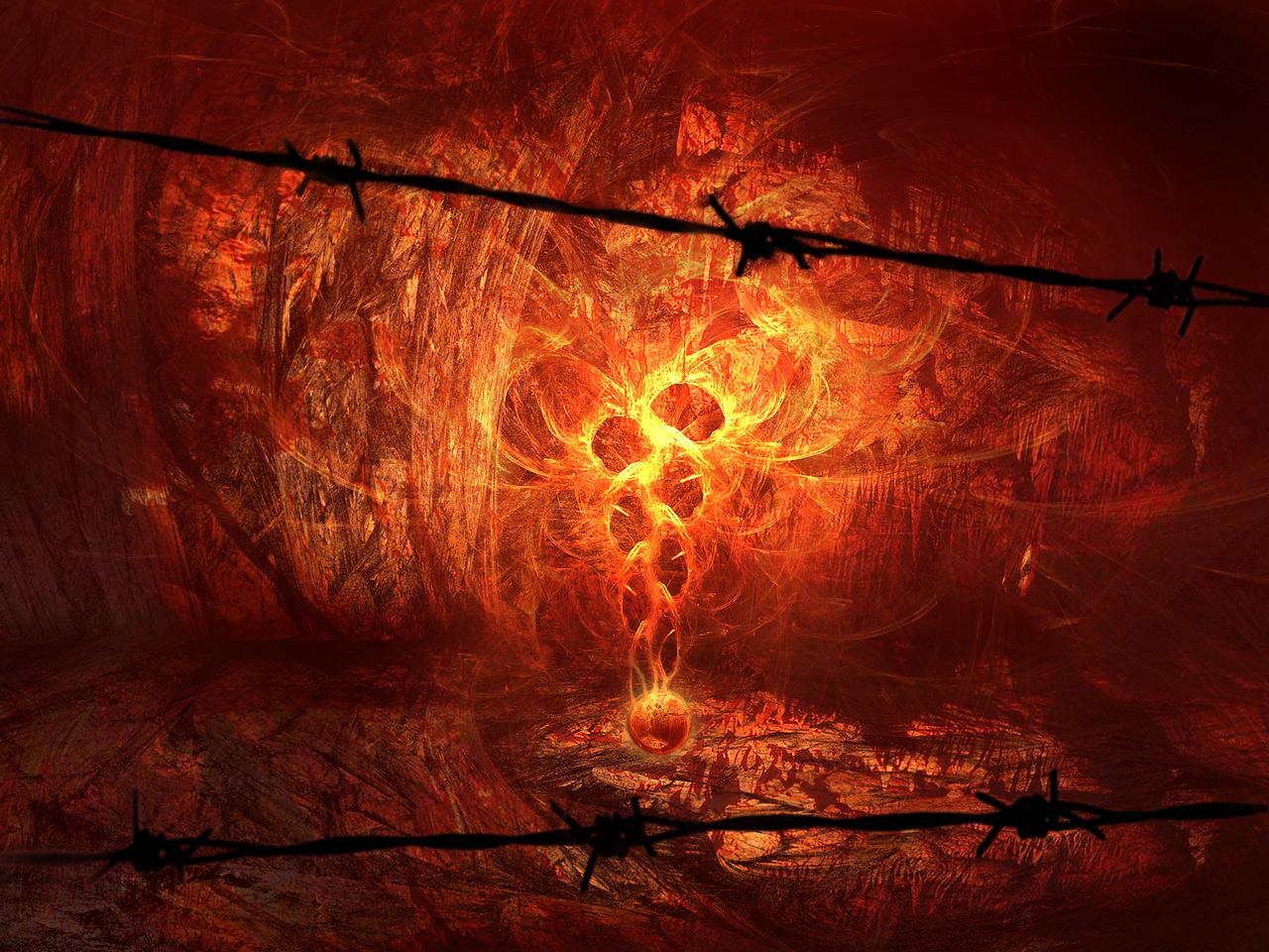 fire wallpaper black magic