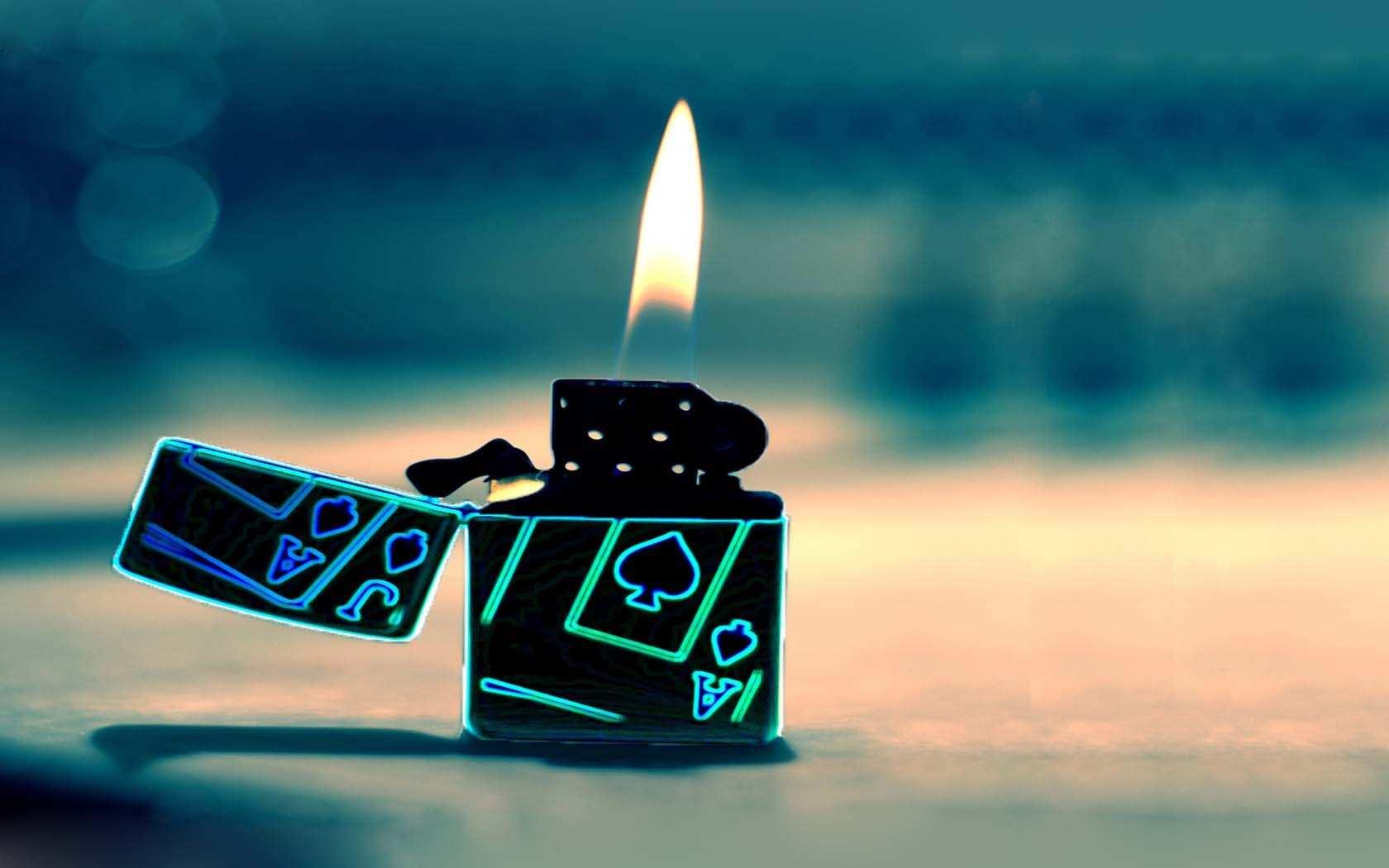 fire wallpaper lighter