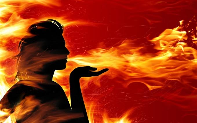fire wallpaper magic