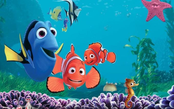 fish background nemo