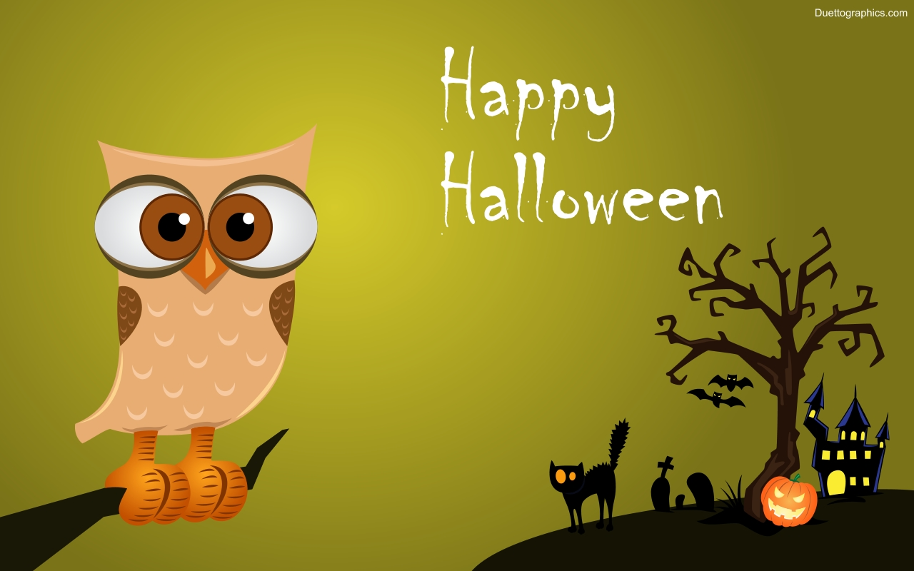 Funny Halloween Wallpaper And Screensavers Cute Wallpapers