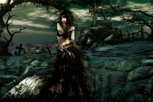 gothic wallpaper sweet