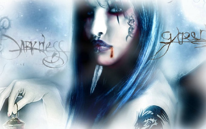 gothic wallpaper women emo