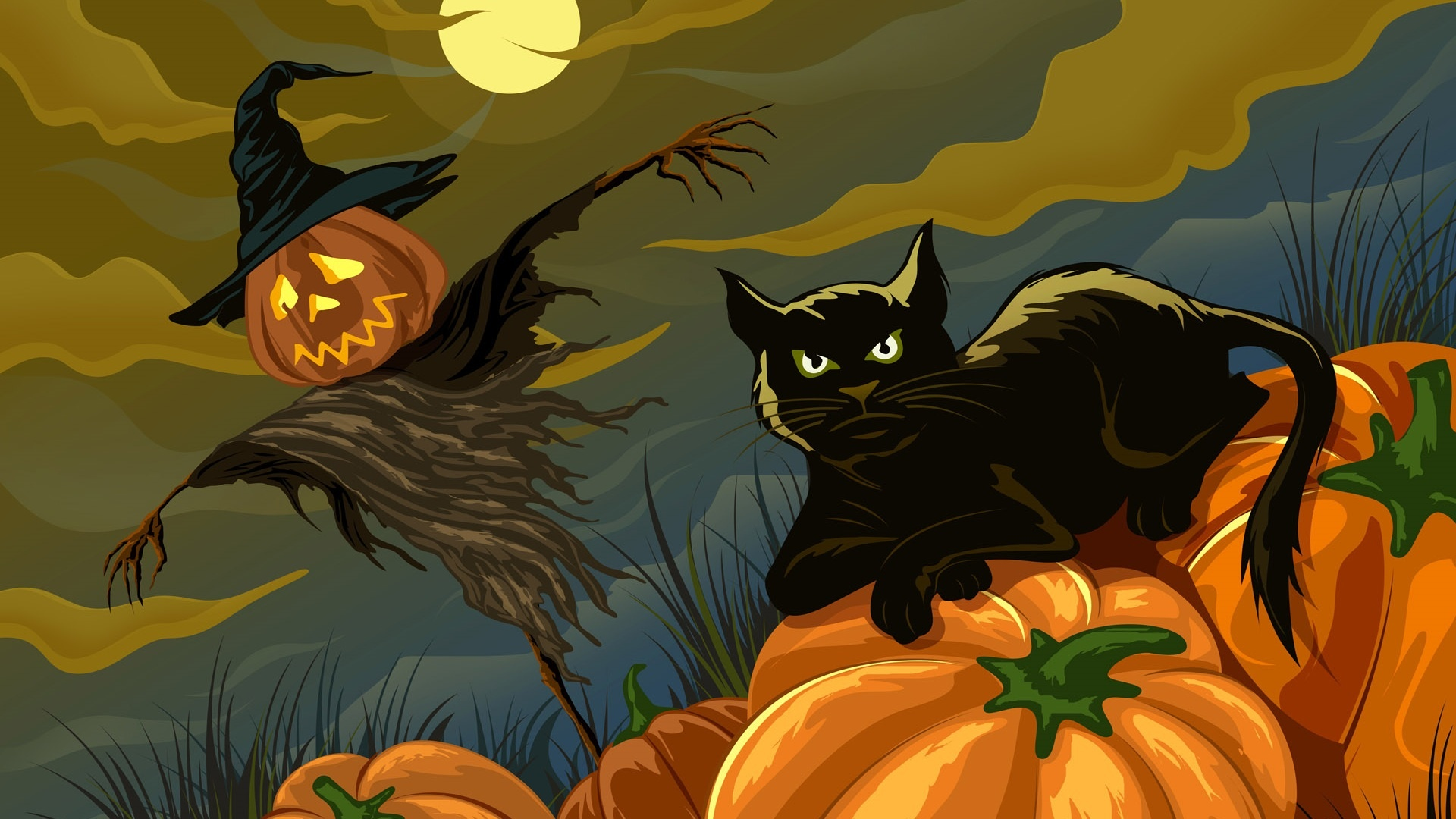 halloween wallpapers animated
