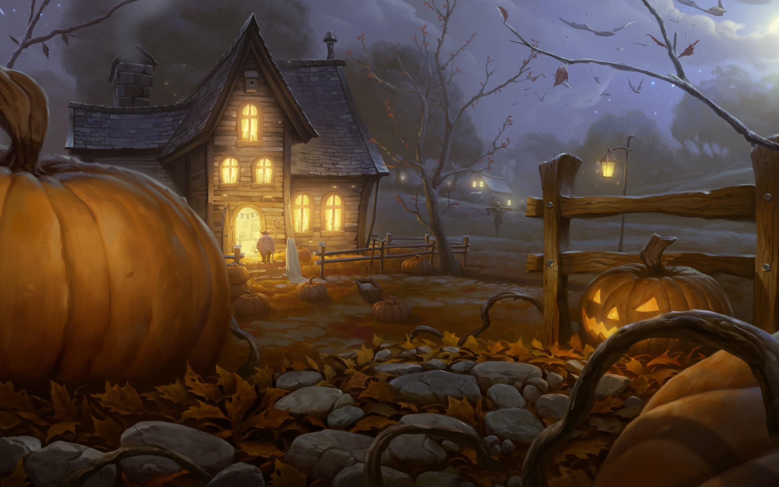 halloween wallpapers calm